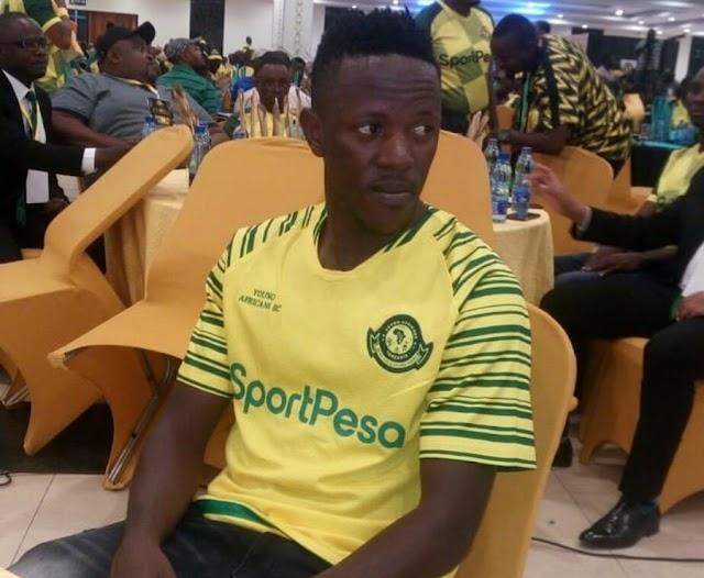 Yanga Yavunja Mkataba na Mshambuliaji wake Raia wa Uganda