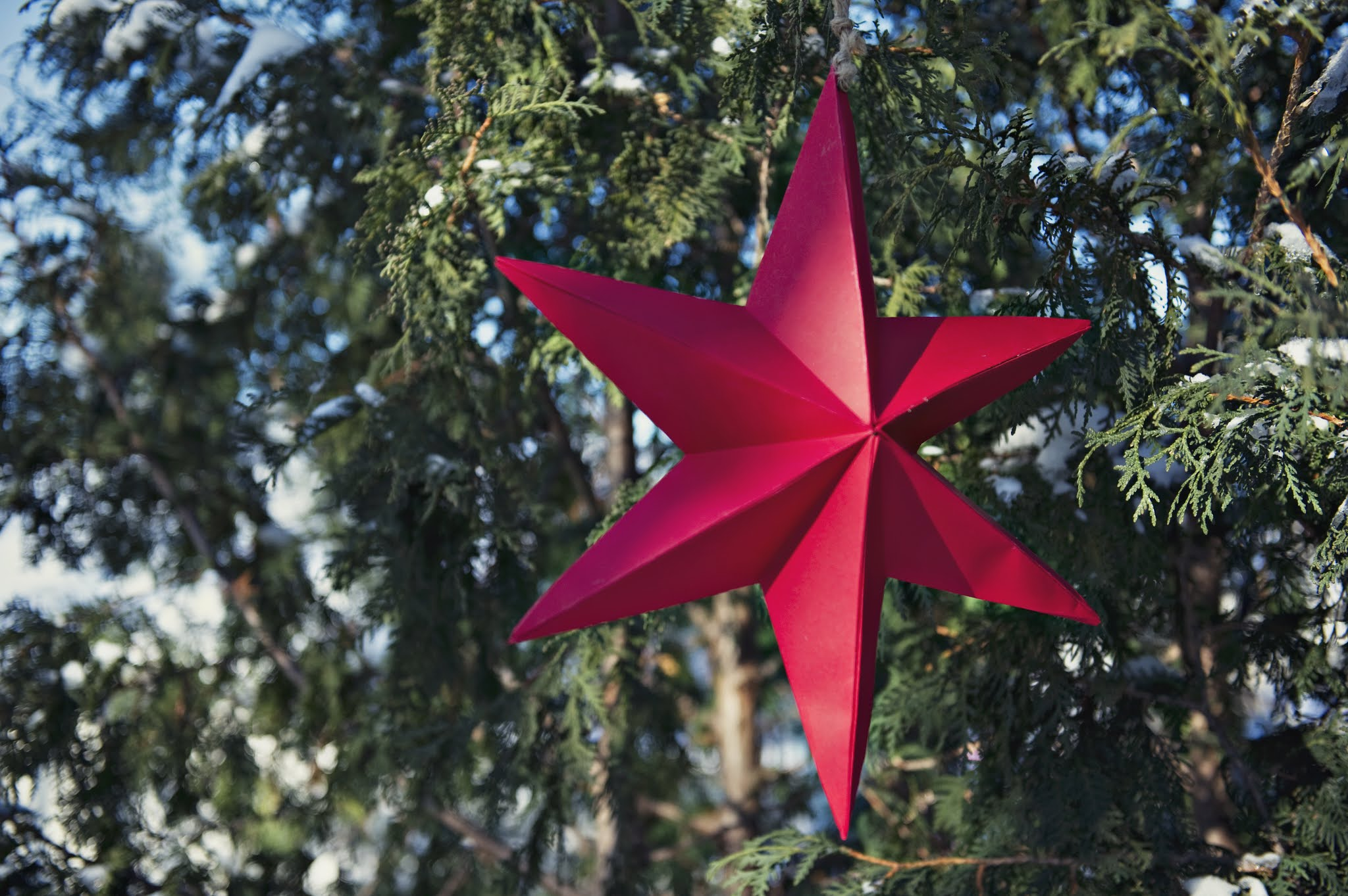 3D paper star craft