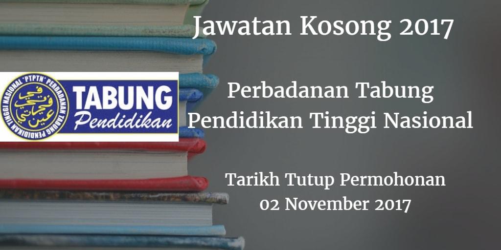 Jawatan Kosong PTPTN 02 November 2017
