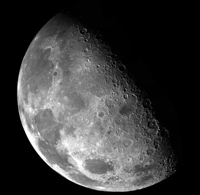 The Discovery of Water Molecules on the Bright Side of the Moon for the first time, NASA announced: