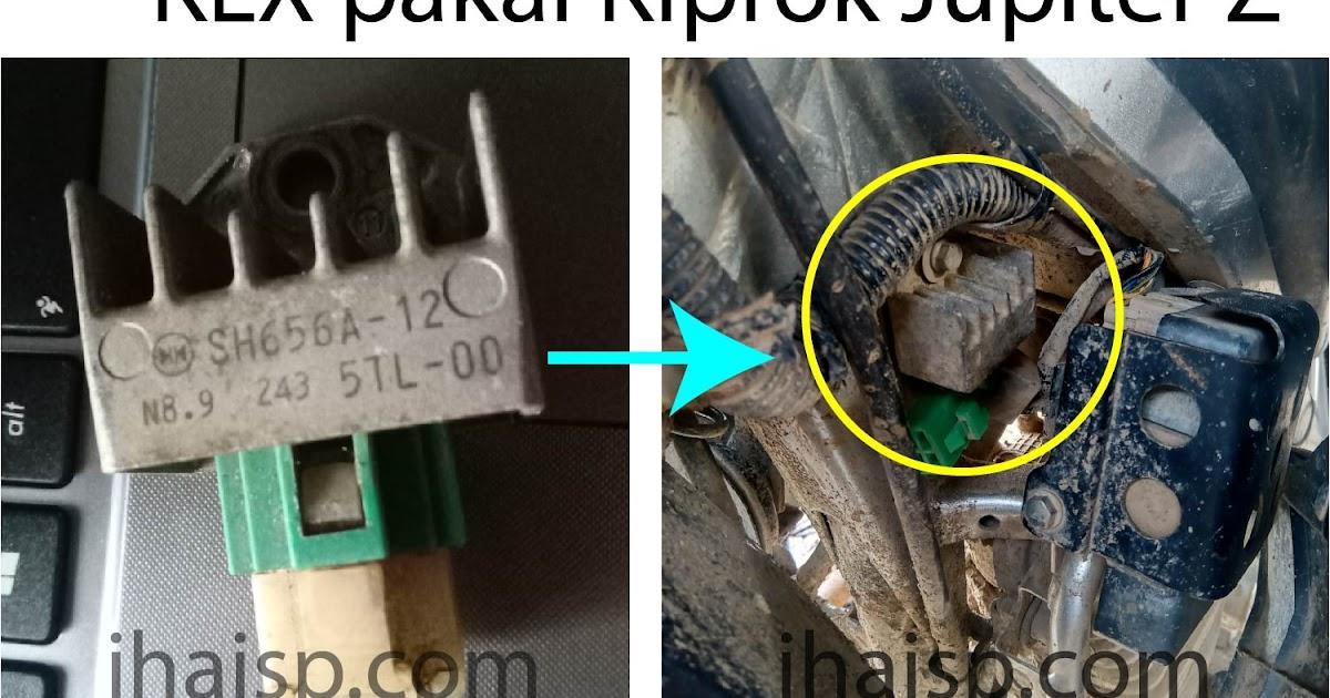 Fungsi Kiprok Sepeda Motor dan Ciri-Ciri Kerusakan Pada ...
