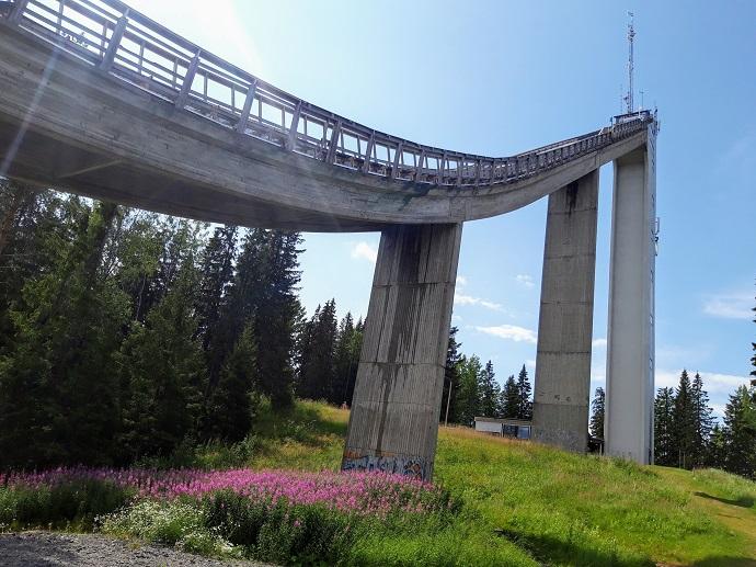 Mäkihyppytornit on Jyväskylän paras näköalapaikka