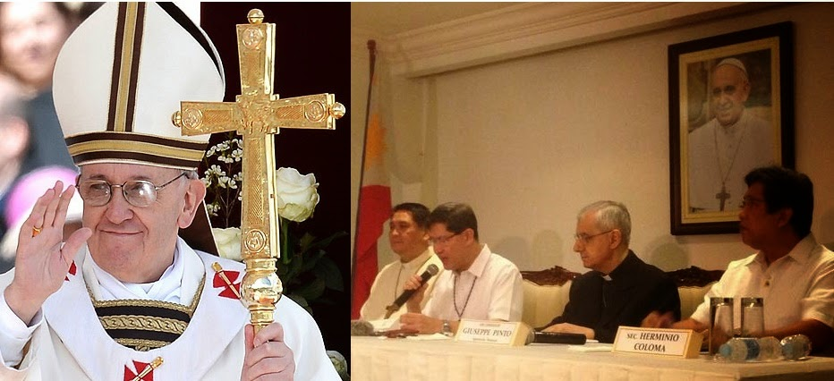Pope Francis, Cardinal Tagle, Travel, Pope Francis visit Philippines, Pope Francis in Manila, Pop Francis in Philippines,