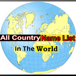 All Country Name List In The World
