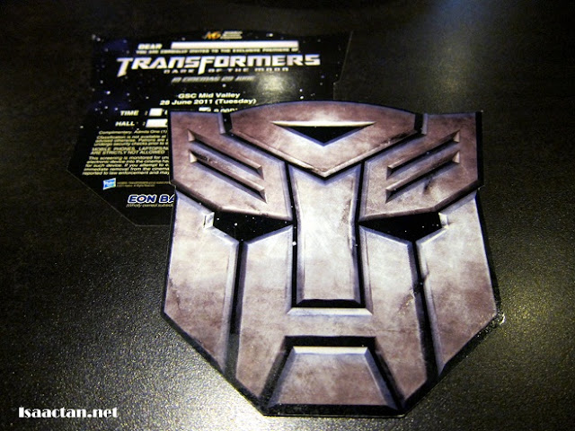 Transformers Premiere Tickets