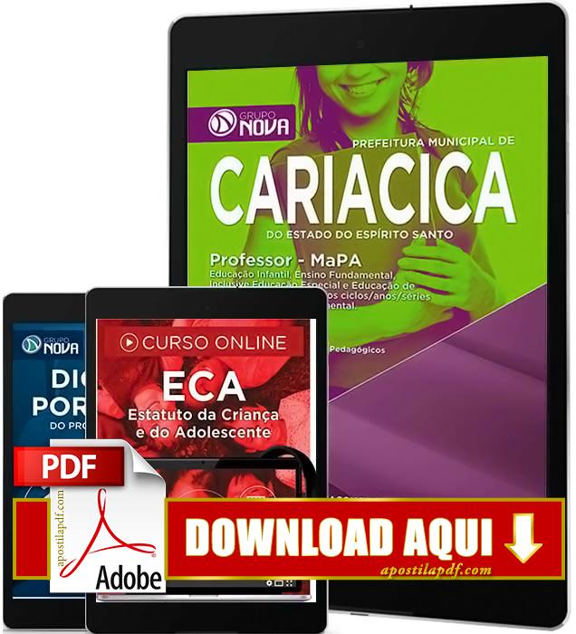 Apostila Prefeitura de Cariacica 2016 PDF Download