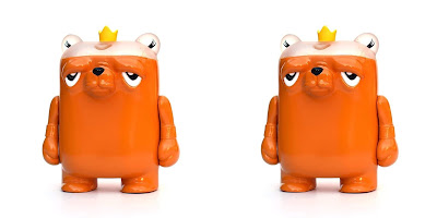 The Bearchamp Pound For Pound Honey Edition Vinyl Figure by JC Rivera x UVD Toys