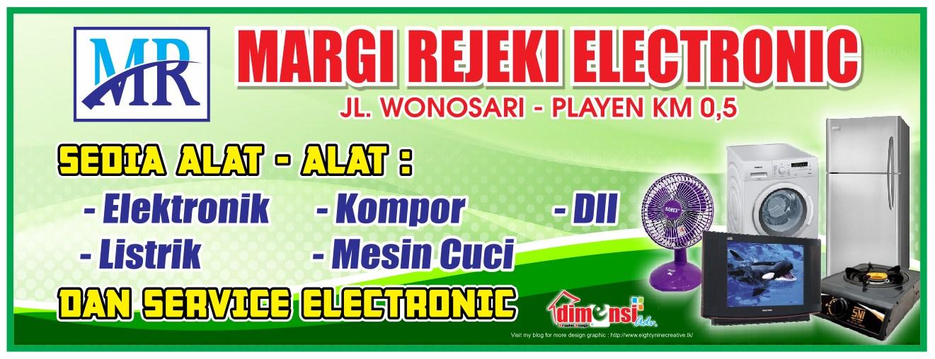 Download Desain Spanduk Servis Elektronik Vector CDR ...