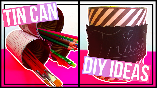 5 Tin Can DIY Ideas
