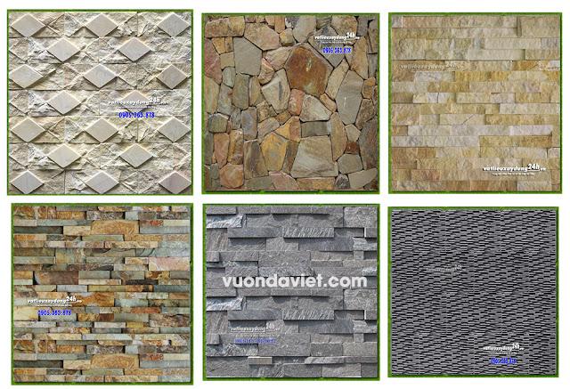 Mẫu đá tự nhiên ốp tường đẹp