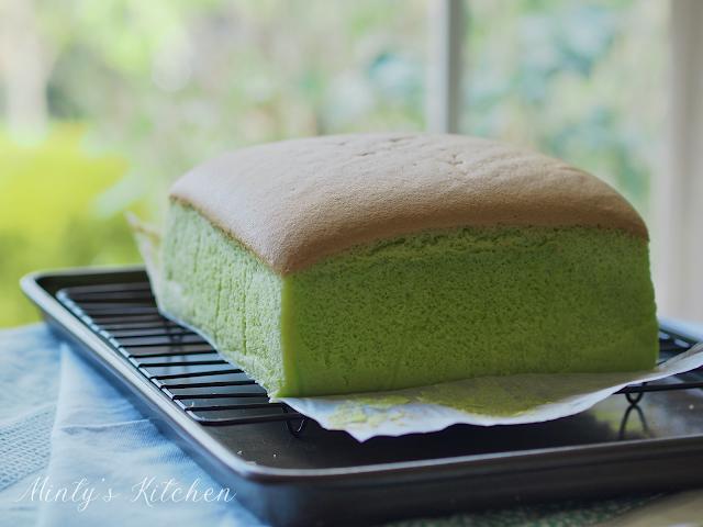 Pandan Cotton Sponge Cake