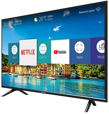 Hisense H32B5600: Smart TV HD de 32'' con Netflix, YouTube y Prime Video