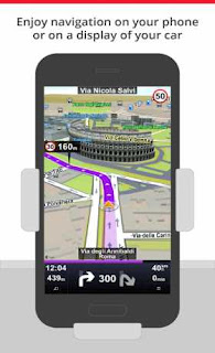 Sygic Car Navigation Apk+Data+Map Full Unlocked