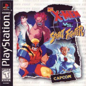X-Men vs. Street Fighter (1996) PS1