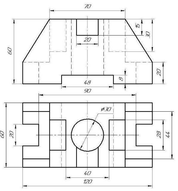 Гдз по черчению 9 класс преображенская рисунок 228
