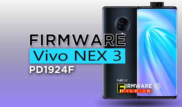 Firmware Vivo NEX 3