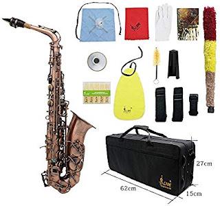 Sassofono Alto Eb E-flat Professionale