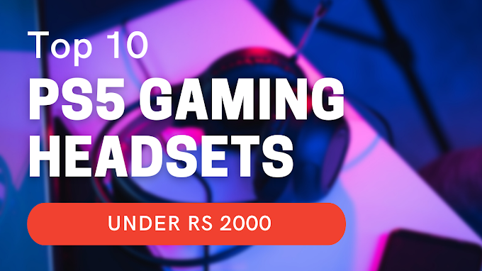 Top 5 Playstation 5 Gaming Headset Under 2000