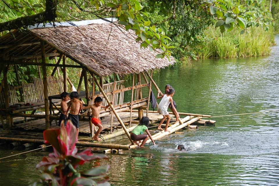 Lake Danao in Ormoc, Leyte