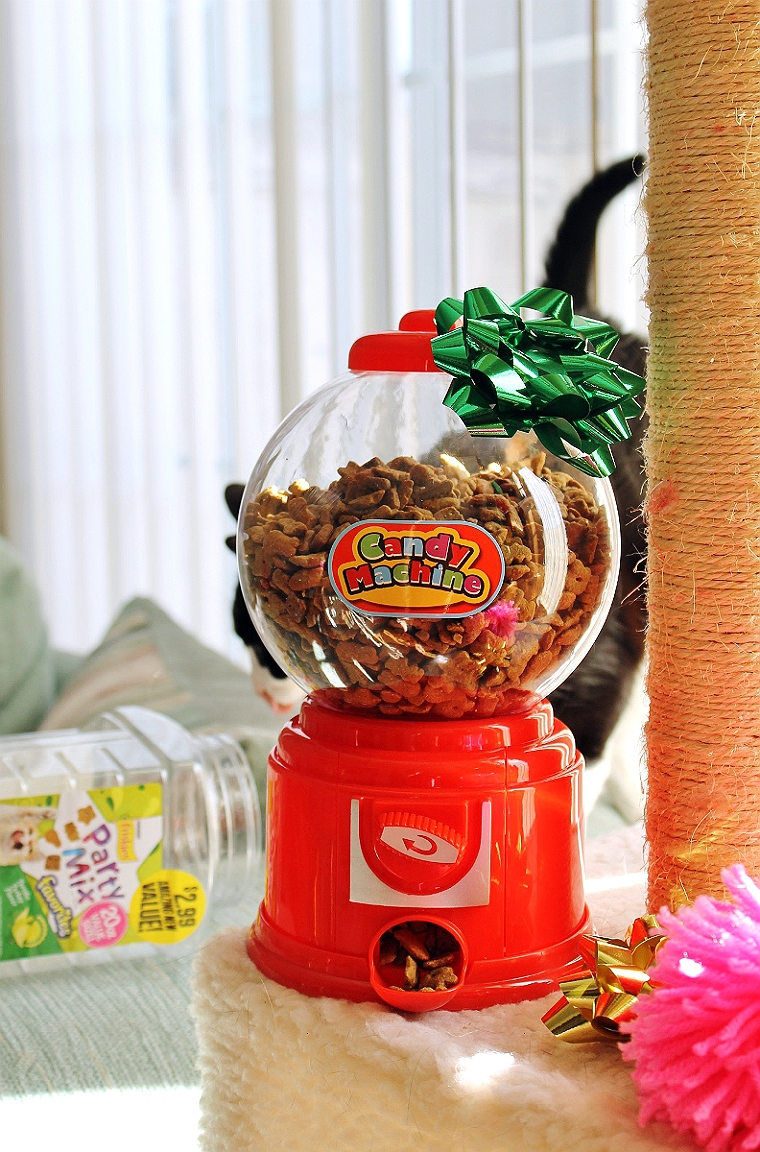 Make this fun pet treat dispenser fur just $4 at your local 99 Cents Only Stores! #DoingThe99 #99YourHoliday #AD