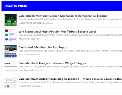 Cara Buat Related Post di Blogger Evo Magz Mas Sugeng