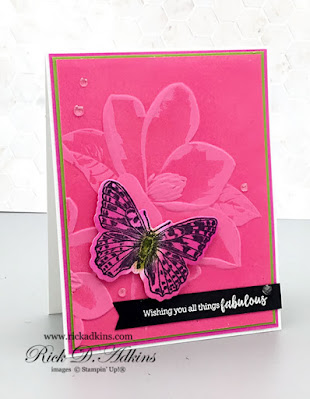 Check out this double embossing technique on my card today.  Click here to learn more.