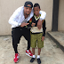 Father - son time! Actor Charles Okocha pictured with his son in new photos