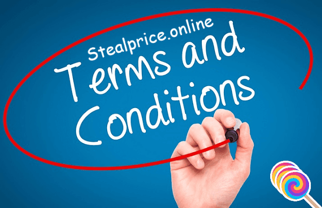 Terms of Service And Conditions of stealprice.online
