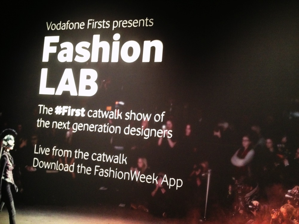 vodafone firsts fashion lab david laport