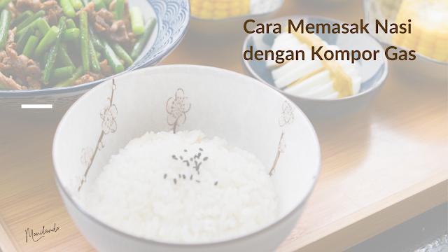 cara memasak nasi mudah