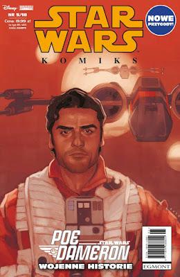 Egmont: Zapowiedź Star Wars Komiks (5/2018): Poe Dameron: Wojenne historie