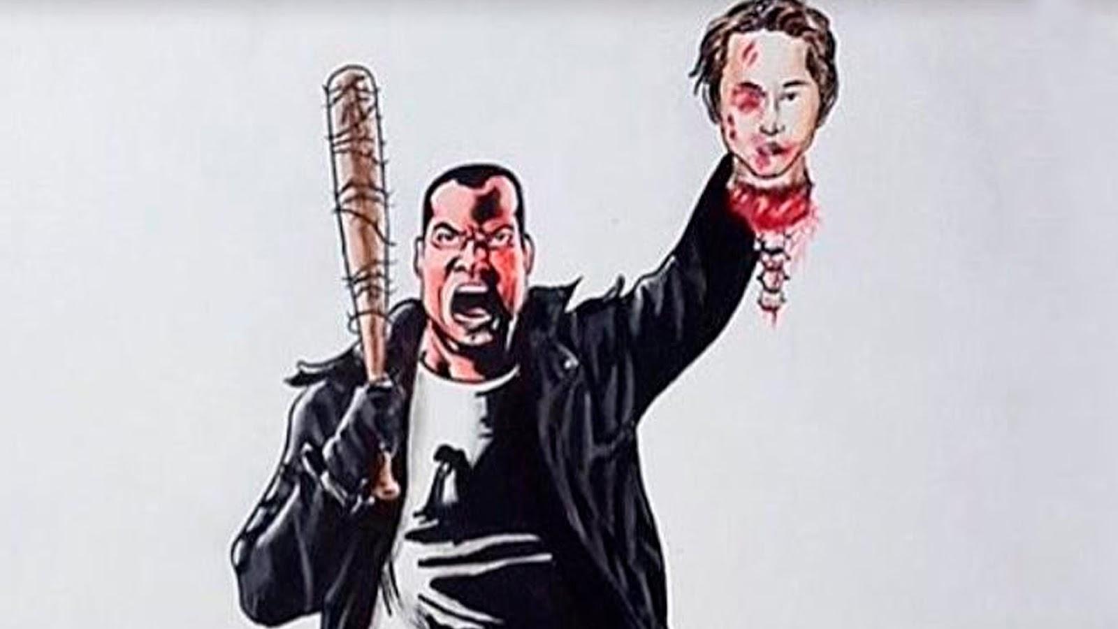 Censore Cr 233 Atif Negan The Walking Dead