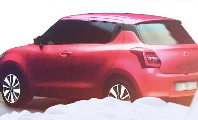 2017 Maruti Suzuki Swift Red colour