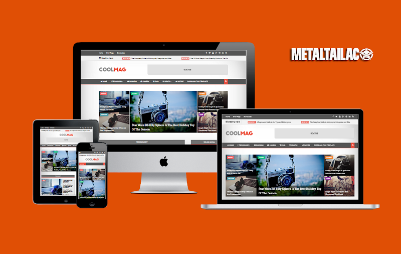 Cool Mag Responsive Blogger Template Premium Version - Responsive Blogger Template