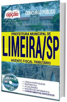 Apostila Prefeitura de Limeira 2017 - Agente Fiscal Tributário