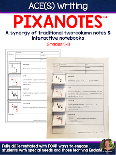 The best tool to record key ELA concepts is Pixanotes™!