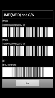 Tombol rahasia Samsung J2 Prime Cek IMEI