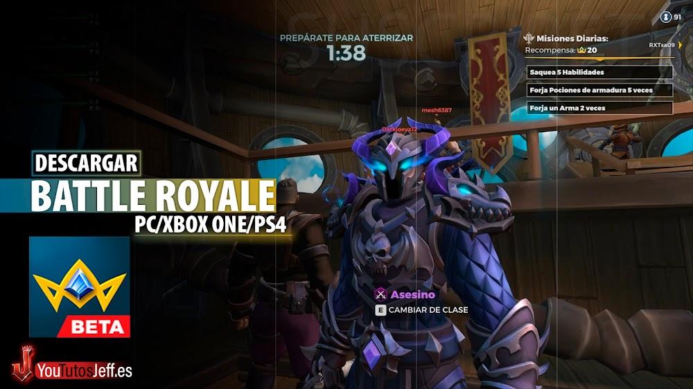 Battle Royale Fantasia, Descargar Realm Royale para PC Gratis