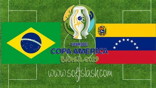 شاهد مبارة البرازيل ضد فنزويلا بث مباشر live او عبر سيرفر iptv بدون تقطيع