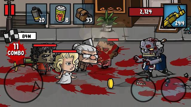 Game Zombie Age 3 : Shooting Walking