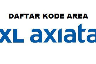 Daftar Lengkap Kode Area (HLR) Nomor Handphone XL Terbaru 2019