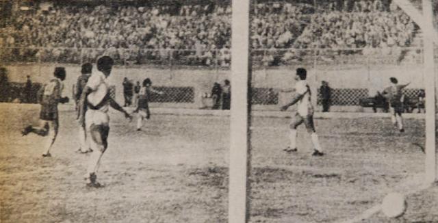 Perú y Chile en partido amistoso, 5 de agosto de 1981