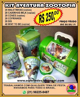 Kit Aventura Zootopia, Latinha Mint To Be Zootopia, Lembrancinha Zootopia, Brinde Zootopia, Tema Zootopia, Festa Zootopia