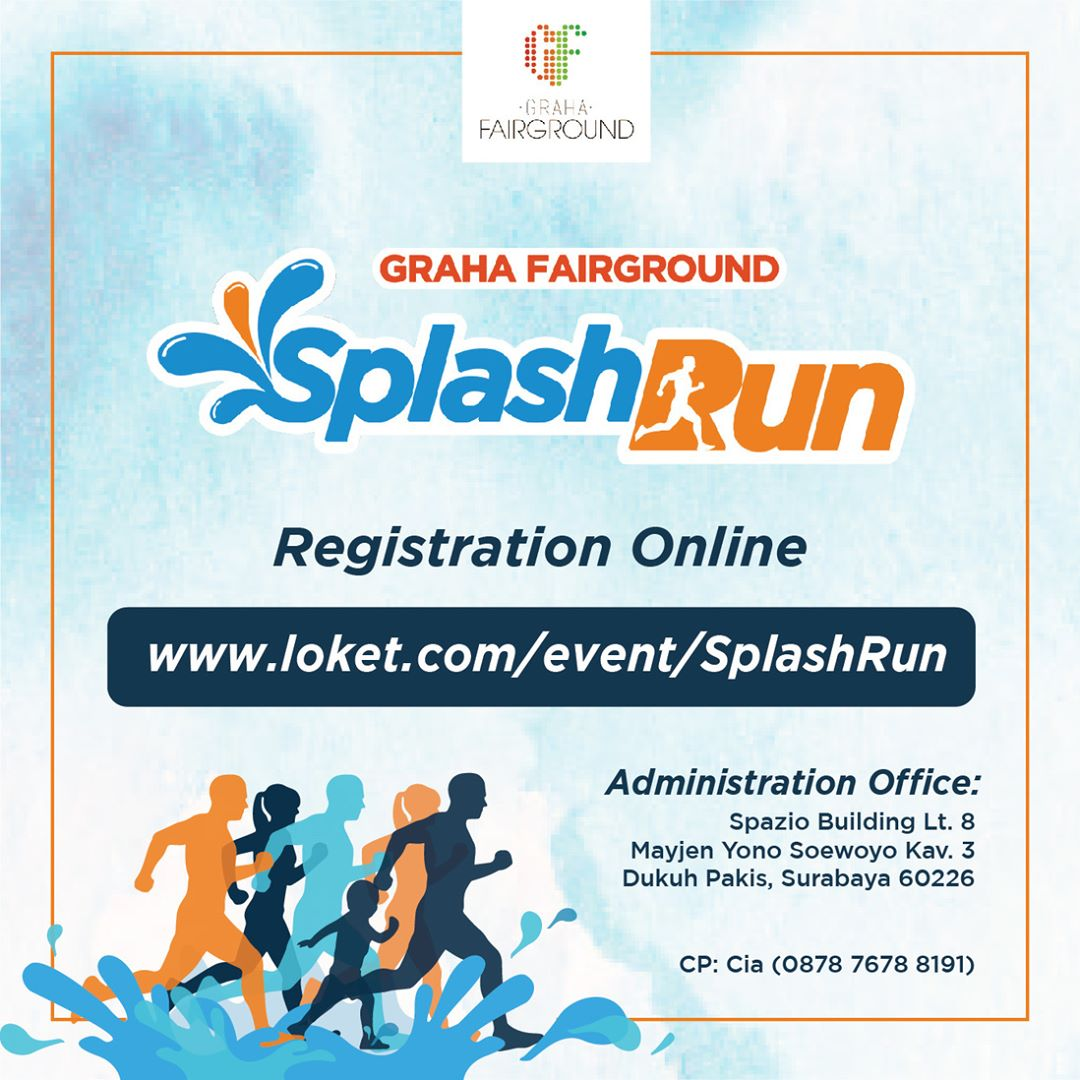 Graha Fairground Splash Run • 2019