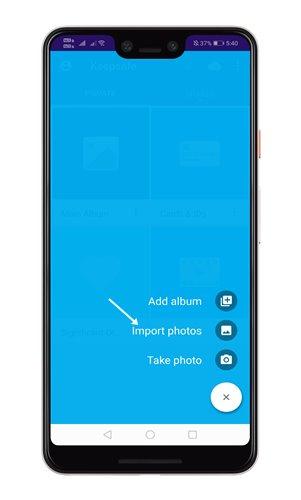 تطبيق قفل الصور برقم سري