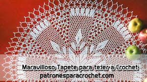 Patrón de Tapete Crochet 🥰 Decora tu hogar