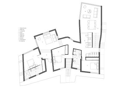 EnterProjects: The Aldrich Residence: Drawing Set