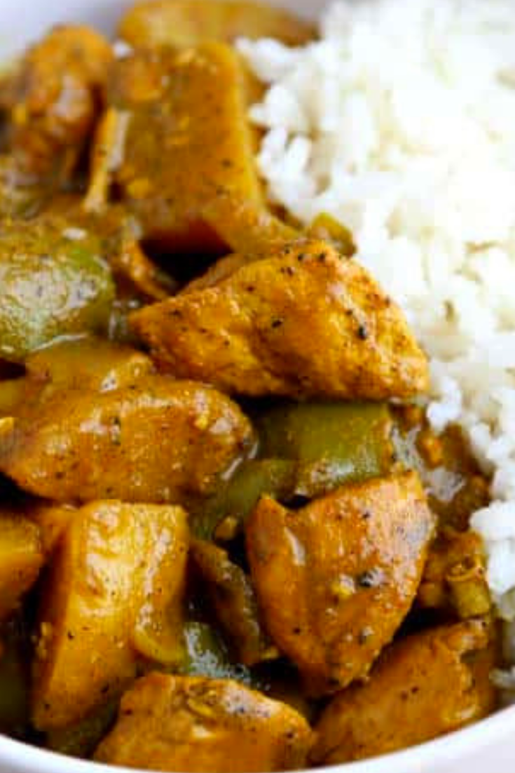 Jamaican Curry Chicken is Rich