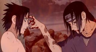 Pertarungan, Sasuke, Itachi, naruto