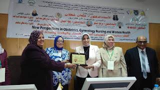 فعاليات المؤتمر الدولي الأول لقسم تمريض النساء والولادة بجامعة الزقازيق